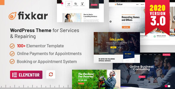 FixKar - All Services WordPress Theme