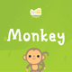 Monkey - Quirky Display Font - GraphicRiver Item for Sale