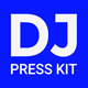 MixMaker - DJ Press Kit / Resume / Rider Template - GraphicRiver Item for Sale
