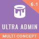 Ultra - Multi Purpose Admin Theme - ThemeForest Item for Sale