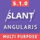 Slant - Multi Purpose AngularJS Admin Web App with Bootstrap - ThemeForest Item for Sale