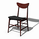 Scandinavian Design Chair 70 - Photoscanned PBR - 3DOcean Item for Sale