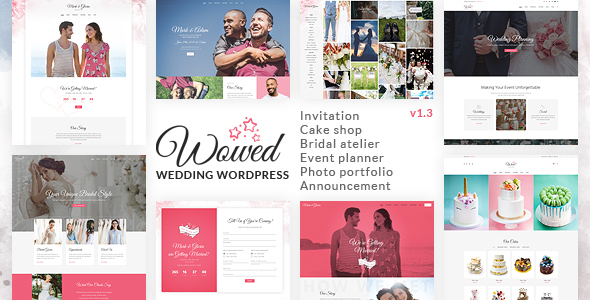 WoWedding - Wedding Oriented WordPress Theme