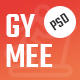 GYMEE - Fitness and Gym PSD Template - ThemeForest Item for Sale
