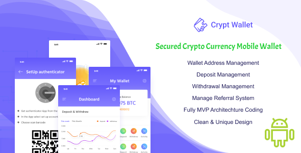 CryptWallet - Crypto Currency Mobile Wallet Pro