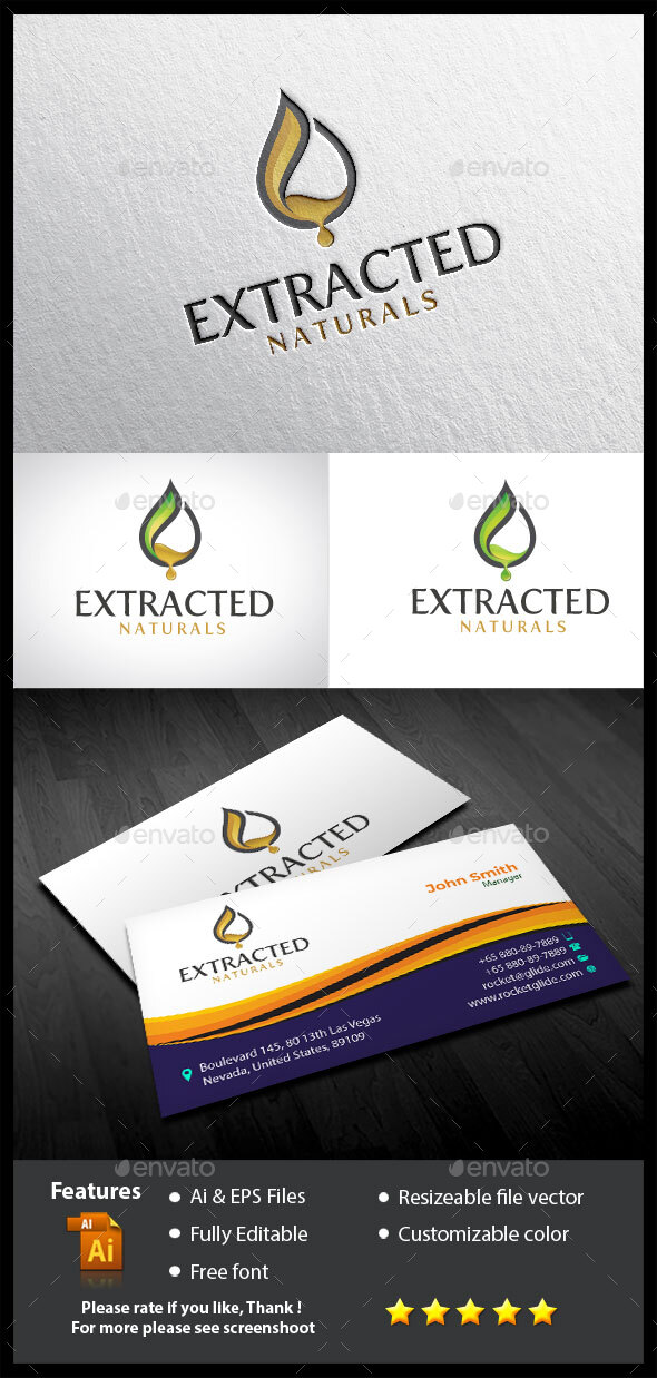 Extracted Naturals Logo