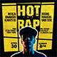 Hot Rap Flyer - GraphicRiver Item for Sale