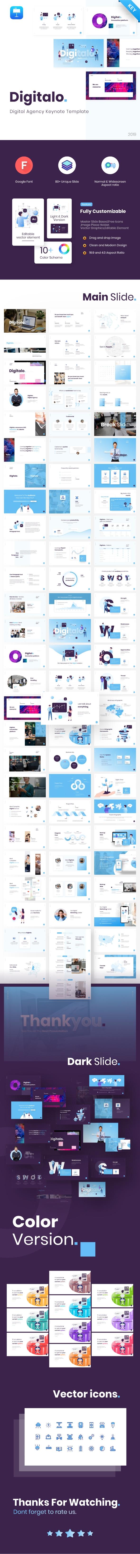 Digitalo – Digital Agency Keynote Presentation Template