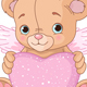 Teddy Bear with Heart - GraphicRiver Item for Sale