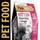 Pet Food Pouch Packaging Design Template - GraphicRiver Item for Sale