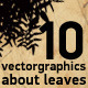 Vector leaves - GraphicRiver Item for Sale