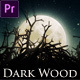 Dark Wood (Mogrt) - VideoHive Item for Sale