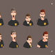 Man Cartoon Character Expressions - GraphicRiver Item for Sale