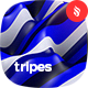 Tripes - Colored Stripes Waves Backgrounds - GraphicRiver Item for Sale