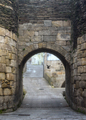 Arch Entrance Door in the Roman Wall of Lugo - PhotoDune Item for Sale