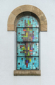 Colored Stained Glass Window of a Church - PhotoDune Item for Sale