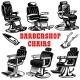 Set of Barber Shop Chair Illustrations - GraphicRiver Item for Sale