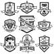 Set of Vintage Meat Store Labels Design Element - GraphicRiver Item for Sale