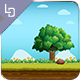 Green Road - Game Background - GraphicRiver Item for Sale