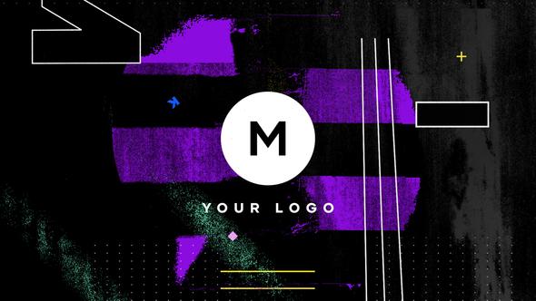 Grunge Distortion Logo