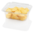 corrugated chips in a disposable food container, isolated on white with clipping path - PhotoDune Item for Sale