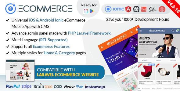 Codecanyon | Ionic Ecommerce - Universal iOS & Android Ecommerce / Store Full Mobile App with Laravel CMS Free Download #1 free download Codecanyon | Ionic Ecommerce - Universal iOS & Android Ecommerce / Store Full Mobile App with Laravel CMS Free Download #1 nulled Codecanyon | Ionic Ecommerce - Universal iOS & Android Ecommerce / Store Full Mobile App with Laravel CMS Free Download #1