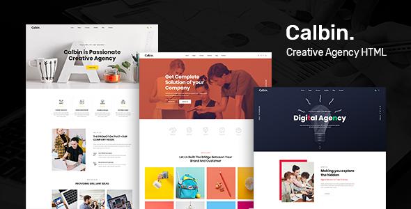Calbin - Creative Digital Agency HTML5 Template