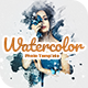 Watercolor Photo Template   Photoshop Mockup - GraphicRiver Item for Sale