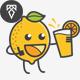Lemonade Logo - GraphicRiver Item for Sale
