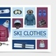 Realistic Ski Clothes and Equipment Composition - GraphicRiver Item for Sale