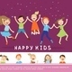 Joyful Children Concept - GraphicRiver Item for Sale