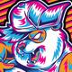 Dance Panda Urban Style - GraphicRiver Item for Sale