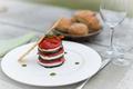 Skewer of eggplant tomato mozzarella - PhotoDune Item for Sale