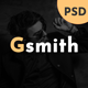 Gsmith - Personal Portfolio PSD Template - ThemeForest Item for Sale