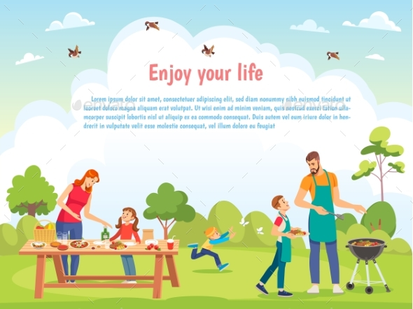 Happy Family Day Template for Card