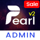 Pearl - Responsive Admin & Dashboard Template WebApp - ThemeForest Item for Sale