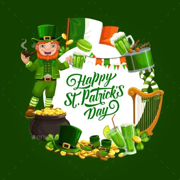 Patricks Feast Holiday Symbols