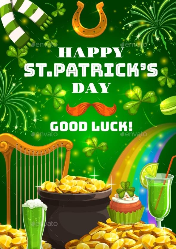 Patricks Day Irish Symbols of Luck and Fortune