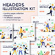 Landing Page Template on Various Topics - GraphicRiver Item for Sale