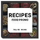 Recipes Food Promo - VideoHive Item for Sale