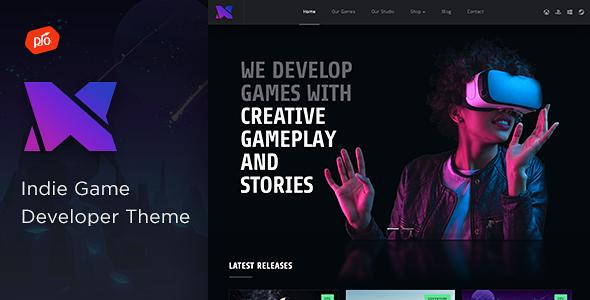 Xion - Indie Game Developer Theme