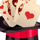 Play Card in Top Hat Magic Trick - GraphicRiver Item for Sale
