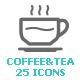 Coffee and Tea Mini Icon - GraphicRiver Item for Sale
