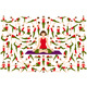 Set of Yoga Women in Asana Pose - GraphicRiver Item for Sale