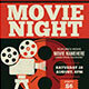 Movie Night / Movie Time Flyer - GraphicRiver Item for Sale