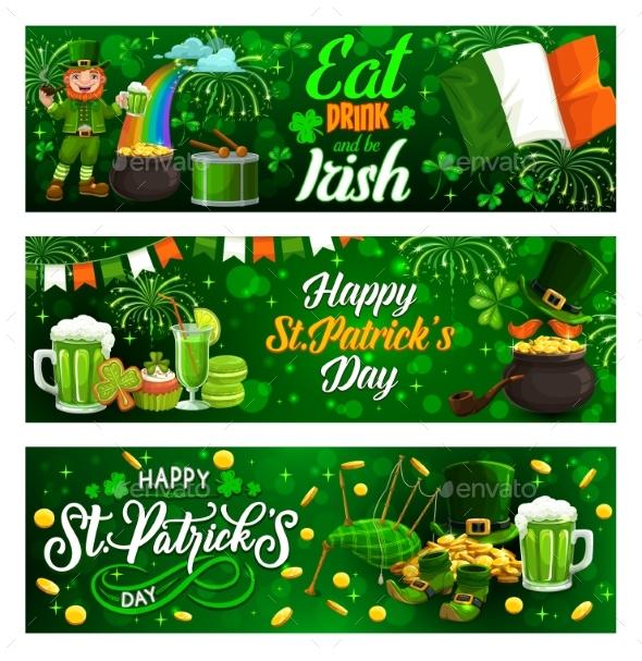 Happy Patricks Day Symbols