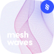 Mesh Waves Photoshop Brushes - GraphicRiver Item for Sale