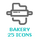 Bakery & Sweet Mini Icon - GraphicRiver Item for Sale