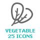 Vegetable Mini Icon - GraphicRiver Item for Sale