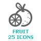 Fruit Mini Icon - GraphicRiver Item for Sale